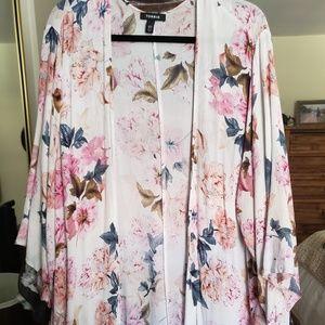TORRID *BOHO Floral Kimono*